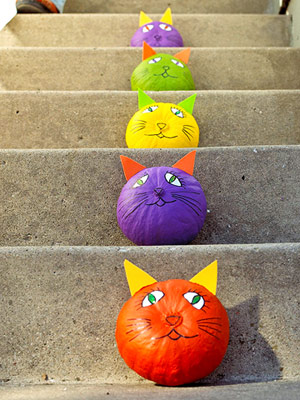 Осень в детском саду поделки: детские осенние поделки из тыквы.