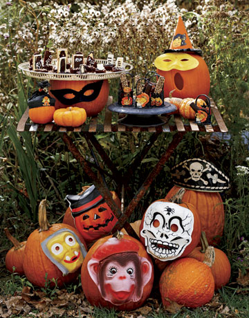 The cure for the common pumpkin: No-carve pumpkin decorating tips ...